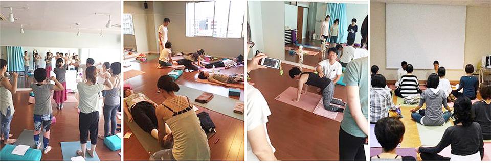 日本ヨガメディカル協会の乳がんヨガの講座プログラム